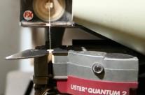 Controle de qualidade do fio com Uster Quantum 2